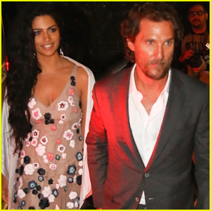 Matthew McConaughey & Camila Alves Arrive in Style for Friend's Wedding in Brazil