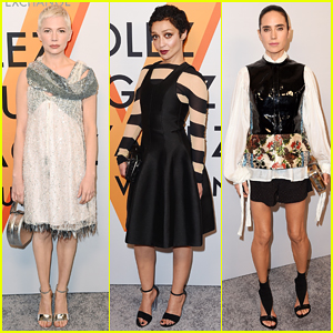 Michelle Williams, Ruth Negga & Jennifer Connelly Hit Up the Louis Vuitton Exhibition Opening!