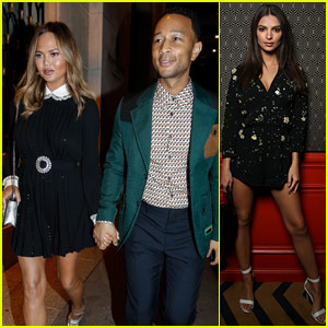 Chrissy Teigen & John Legend Have a Date Night with Miu Miu!