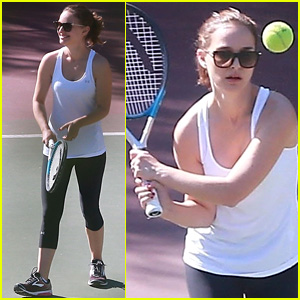 Natalie Portman Totally Slays on the Tennis Court - See the Pics!