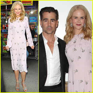 Nicole Kidman & Colin Farrell Promote 'Killing of a Sacred Deer' in NYC