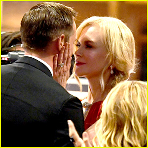 Nicole Kidman Explains Why She Kissed Alexander Skarsgard at the Emmys