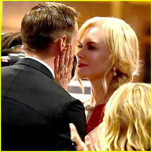 Nicole Kidman Explains Why She Kissed Alexander Skarsgard at the Emmys