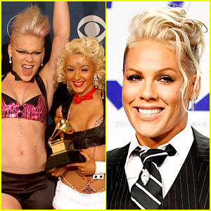 Pink Addresses the Christina Aguilera Beef, Teases a Collaboration (Video)