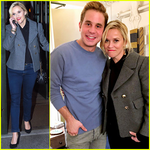 Reese Witherspoon Raves Over Ben Platt's Work in 'Dear Evan Hansen'
