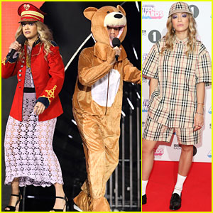 Rita Ora Co-Hosts BBC Radio 1 Teen Awards with Nick Grimshaw