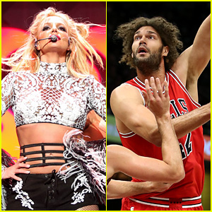 Chicago Bulls Player Robin Lopez Turns to Britney Spears for Inspiration!