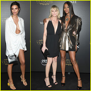 Robin Wright, Naomi Campbell & Emily Ratajkowski Celebrate Paris Fashion Week at Vogue Party!
