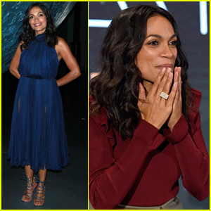 Rosario Dawson Hosts 'Life on the Moon' Event in NYC
