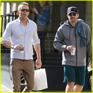 Ryan Reynolds & Jake Gyllenhaal Are Friendship Goals in NYC