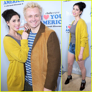 Sarah Silverman Gets Support from Boyfriend Michael Sheen at 'I Love You America' Premiere!