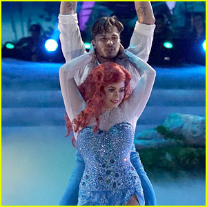 PLL's Sasha Pieterse Turns Into Ariel for 'DWTS' Disney Night (Video)