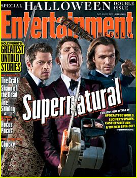 'Supernatural' Stars Get in the Halloween Spirit!