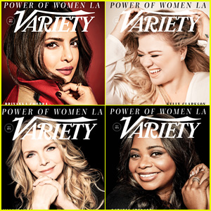 Kelly Clarkson, Priyanka Chopra, Octavia Spencer & More Honored By 'Variety'!