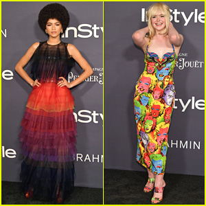 Zendaya & Elle Fanning Receive Big Honors at InStyle Awards