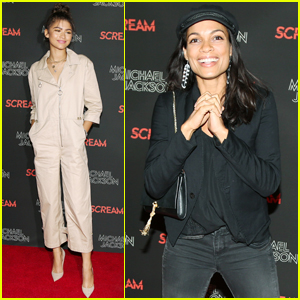 Zendaya Shows Her Style at Michael Jackson 'Scream' Halloween Party