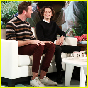 Armie Hammer & Timothee Chalamet Recall 'Passionately' Making Out During First 'Call Me By Your Name' Rehearsal'!