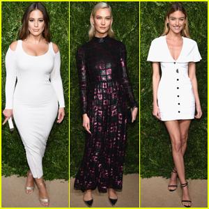 Ashley Graham, Karlie Kloss & Martha Hunt Get Glam For CFDA/Vogue Fashion Awards
