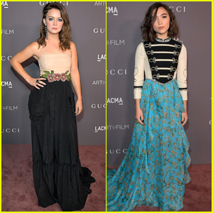 Billie Lourd Joins Rowan Blanchard at LACMA Gala 2017
