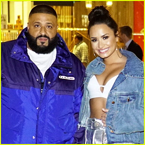 Demi Lovato & DJ Khaled Celebrate Their Tour's On-Sale!