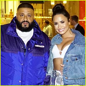 Demi Lovato & DJ Khaled Celebrate Their Tour's On-Sale!