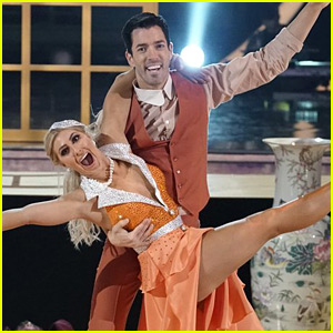 Drew Scott Earns His First Tens During 'DWTS' Finale (Video)