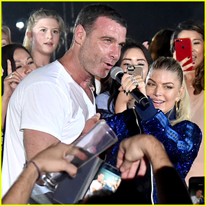 Fergie Gets Liev Schreiber to Sing With Her at Private Concert!