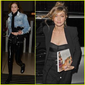 Gigi Hadid Jets Out of London After 'British Vogue' Celebration