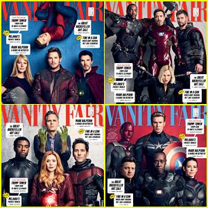 Gwyneth Paltrow, Chris Pratt & More 'Marvel' Stars Celebrate 10 Years on 'Vanity Fair' Holiday Cover!