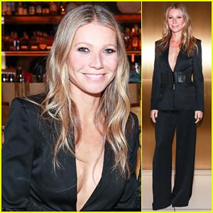 Gwyneth Paltrow Shows Support at La Perla Dinner & Runway Presentation!