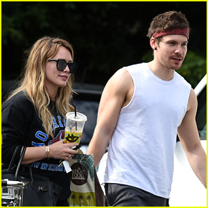 Hilary Duff Does Her Grocery Shopping with Boyfriend Matthew Koma