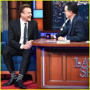 Jason Segel Talks Writing Young Adult Novel 'Otherworld' on 'Late Show' - Watch Here!