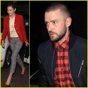 Justin Timberlake & Jessica Biel Do Date Night During Thanksgiving Weekend