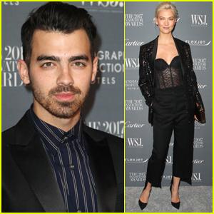 Joe Jonas Joins Karlie Kloss at WSJ Innovators Awards