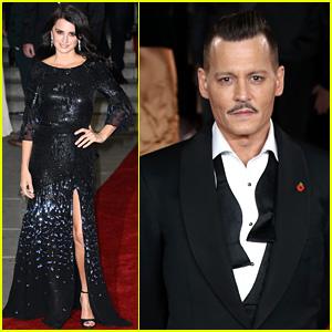 Johnny Depp, Penelope Cruz, & 'Orient Express' Cast Attend World Premiere in London!