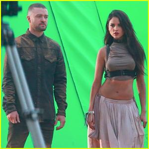 Justin Timberlake Films New Music Video with Eiza Gonzalez