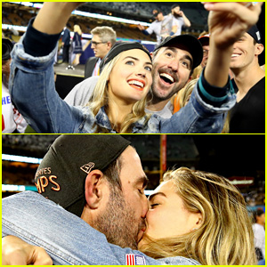 Kate Upton Celebrates World Series Win with Fiance Justin Verlander!