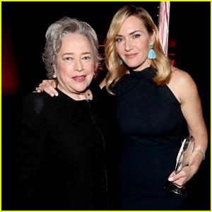Kate Winslet Reunites with 'Titanic' Co-Star Kathy Bates!