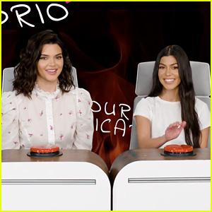Kendall Jenner & Kourtney Kardashian Answer Burning Questions for Ellen DeGeneres - Watch!