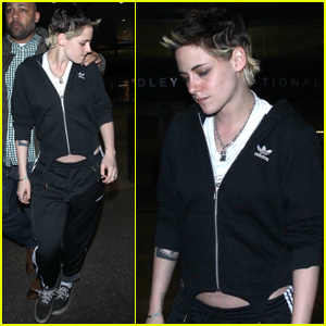 Kristen Stewart Jets Back to Los Angeles For Thanksgiving