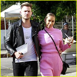 Leona Lewis & Boyfriend Dennis Jauch Grab a Treat at the Farmer's Market