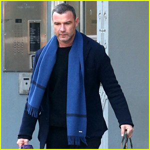 Liev Schreiber Heads Out of Town Before the Weekend
