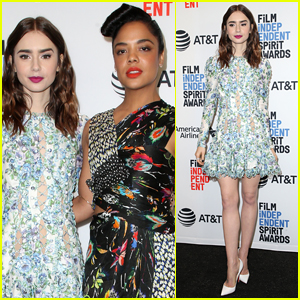 Lily Collins & Tessa Thompson Announce the Film Independent Spirit Awards 2018 Nominations