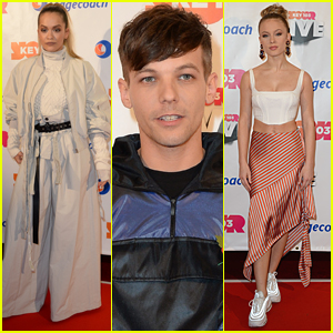 Louis Tomlinson Joins Rita Ora & Zara Larsson at Key 103 Concert