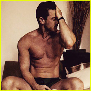Luke Evans Will Heat Up Your Monday with This Shirtless Photo!