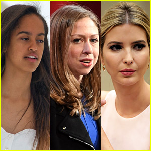 Malia Obama Defended By Chelsea Clinton & Ivanka Trump After Stories About New Boyfriend