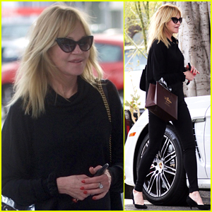Melanie Griffith is All Smiles During Afternoon Shopping Spree