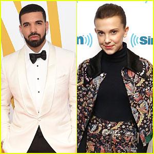 Drake Meets Millie Bobby Brown Backstage at Melbourne Concert