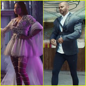Nicki Minaj & Jesse Williams Transform into Magical Faries in H&M's Holiday Campaign Short Film!
