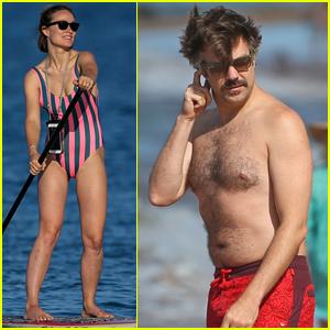 Olivia Wilde & Jason Sudeikis Show Off Their Beach Bodies On Vacation in Hawaii!